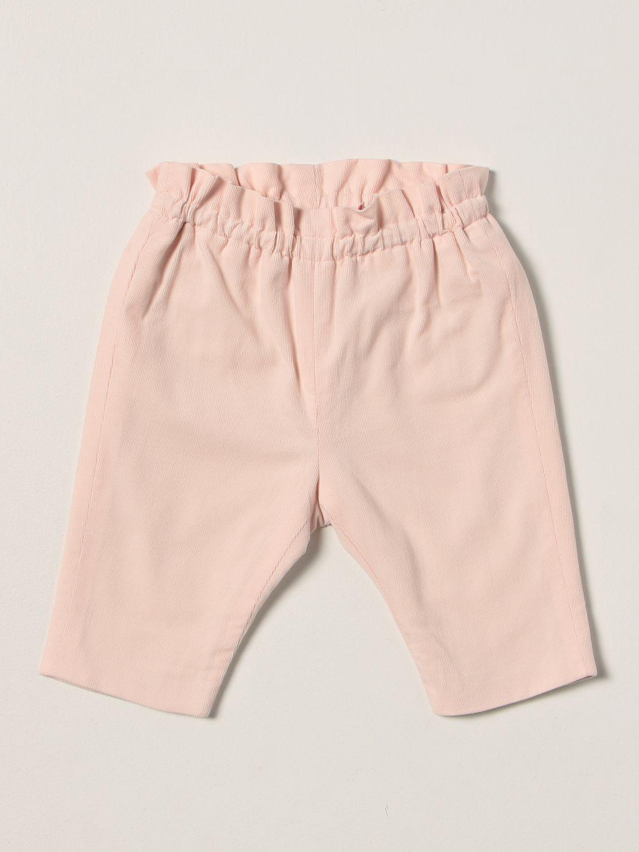 Pantalon Bonpoint: Pantalon enfant Bonpoint rose 1