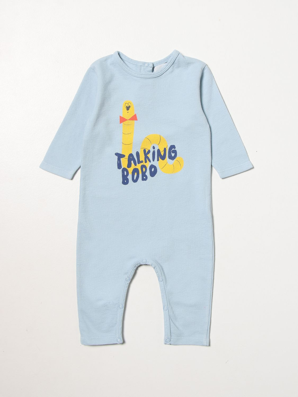 Jumpsuit Bobo Choses: Jumpsuit kids Bobo Choses gnawed blue 1