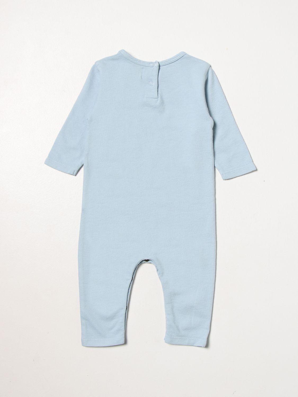 Jumpsuit Bobo Choses: Jumpsuit kids Bobo Choses gnawed blue 2