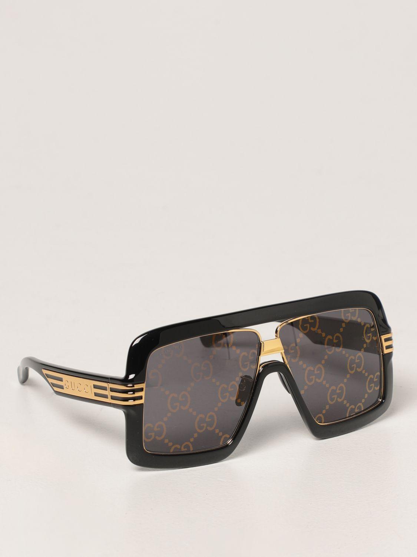 Occhiali Gucci: Occhiali da sole Gucci con lenti GG Original marrone 1