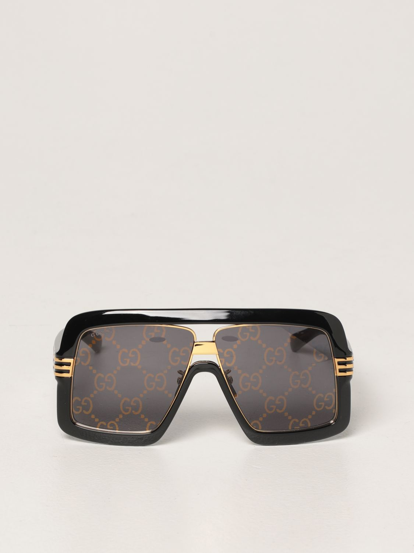 Occhiali Gucci: Occhiali da sole Gucci con lenti GG Original marrone 2