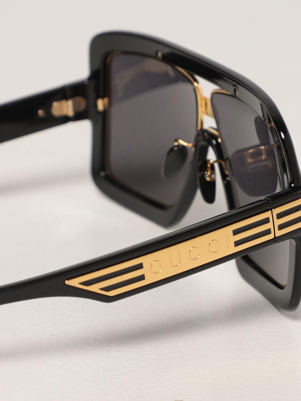 Occhiali Gucci: Occhiali da sole Gucci con lenti GG Original marrone 4