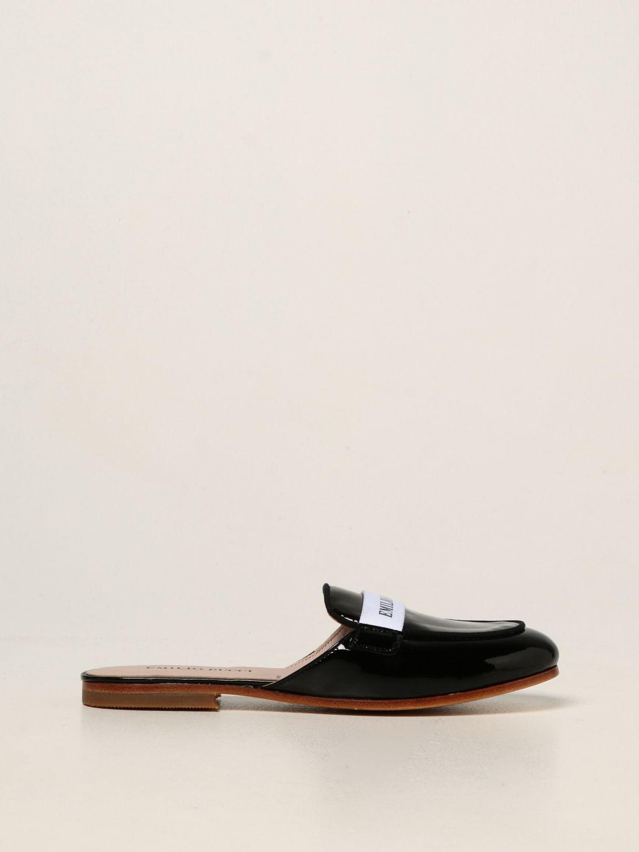Обувь Emilio Pucci: Обувь Детское Emilio Pucci черный 1