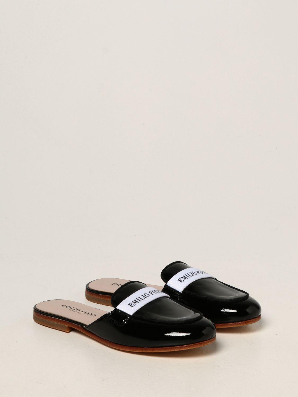 Обувь Emilio Pucci: Обувь Детское Emilio Pucci черный 2