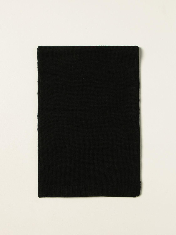 Scarf boy N° 21: N ° 21 scarf with inlays black 1