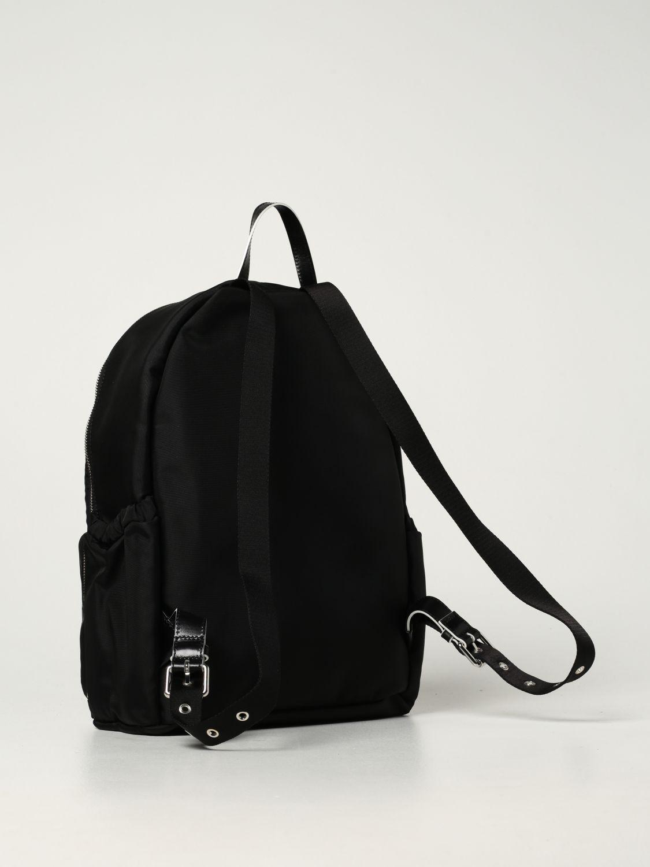 Duffel Bag Balmain: Balmain nylon rucksack with logo black 2