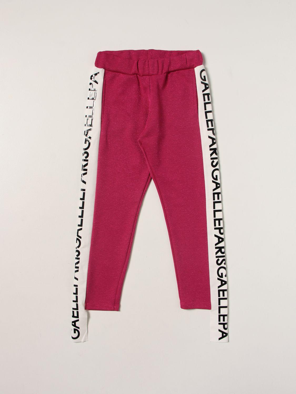 Pantalon Gaelle Bonheur: Pantalon enfant GaËlle Paris fuchsia 1