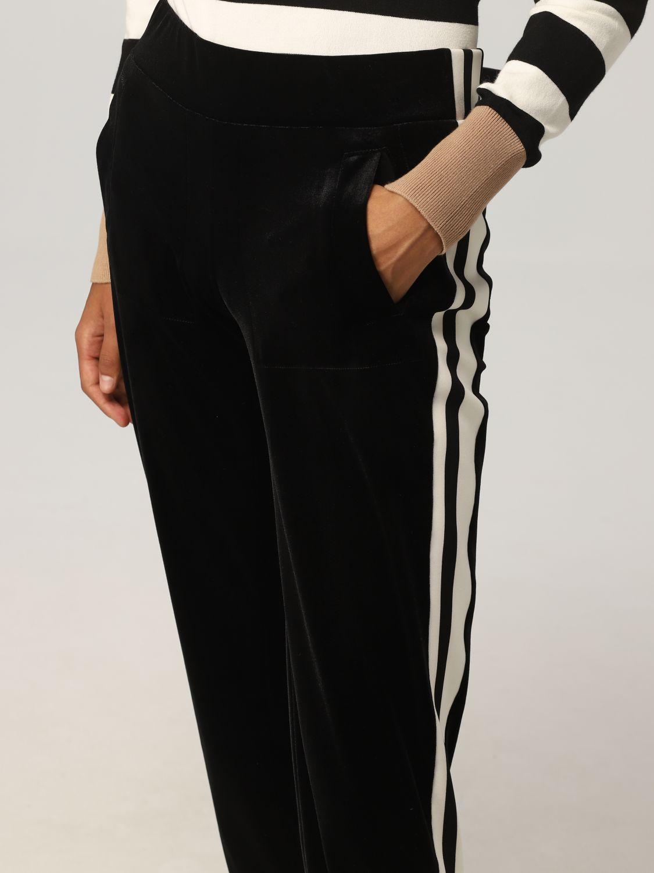 裤子 Norma Kamali: 裤子 女士 Norma Kamali 黑色 3