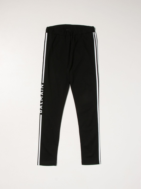 Pants Balmain: Pants kids Balmain black 1