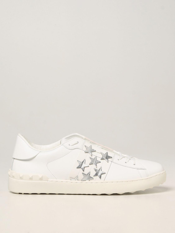 Sneakers Valentino Garavani: Sneakers Valentino Garavani in pelle di vitello bianco 1