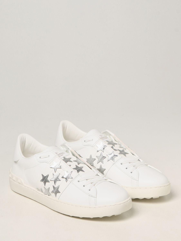 Sneakers Valentino Garavani: Sneakers Valentino Garavani in pelle di vitello bianco 2