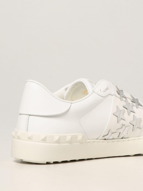 Sneakers Valentino Garavani: Sneakers Valentino Garavani in pelle di vitello bianco 3