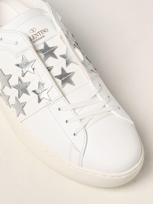 Sneakers Valentino Garavani: Sneakers Valentino Garavani in pelle di vitello bianco 4