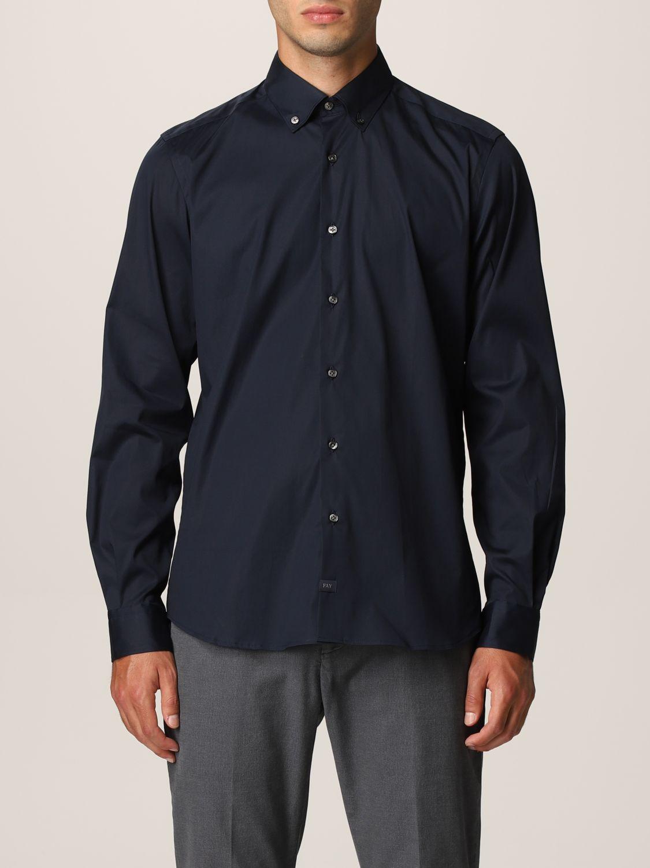 Camisa Fay: Camisa hombre Fay azul oscuro 1