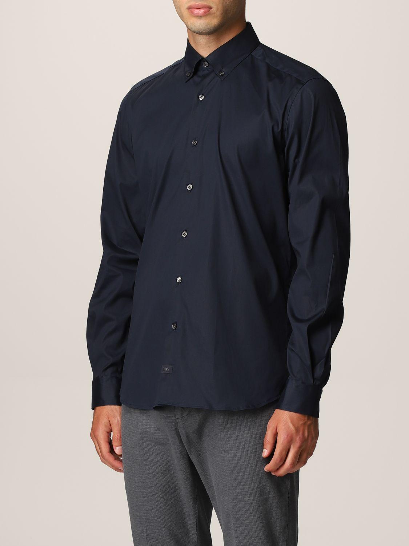 Camisa Fay: Camisa hombre Fay azul oscuro 3