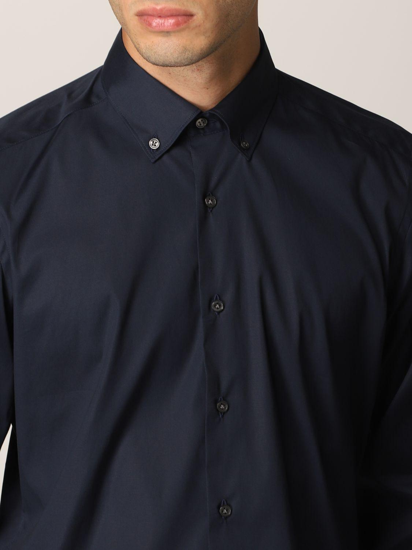 Camisa Fay: Camisa hombre Fay azul oscuro 4