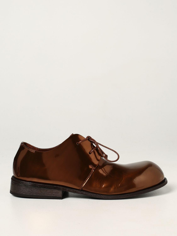 Zapatos de cordones Marsell: Zapatos hombre Marsell bronce 1