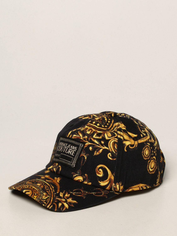 Hat Versace Jeans Couture: Versace Jeans Couture baroque baseball cap black 1