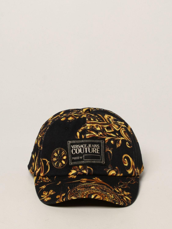 Hat Versace Jeans Couture: Versace Jeans Couture baroque baseball cap black 2