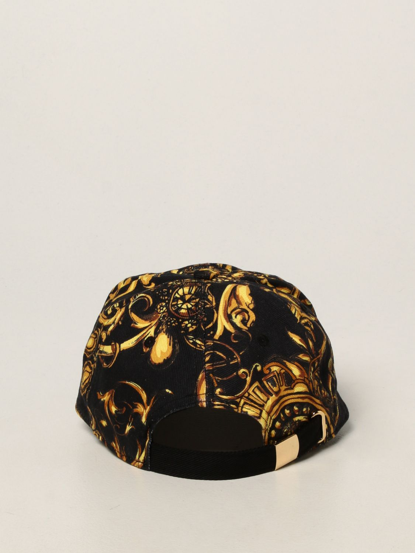 Hat Versace Jeans Couture: Versace Jeans Couture baroque baseball cap black 3