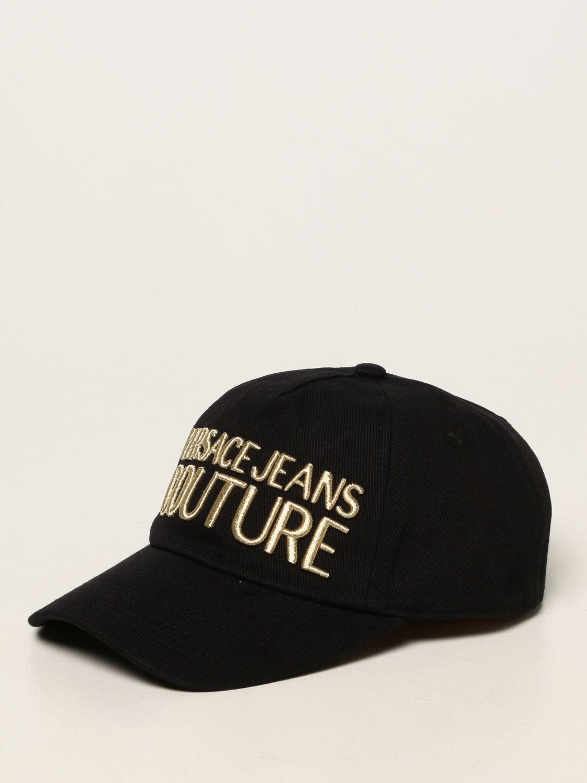 Hat Versace Jeans Couture: Versace Jeans Couture baseball cap black 1