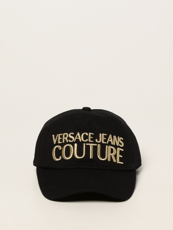 Hat Versace Jeans Couture: Versace Jeans Couture baseball cap black 2