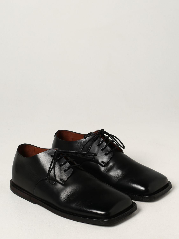 Zapatos de cordones Marsell: Zapatos hombre Marsell negro 2