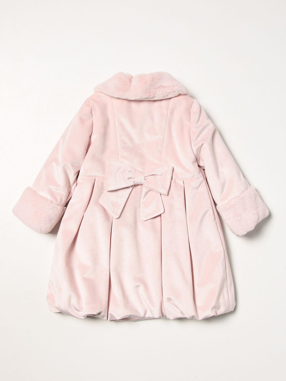 Manteau Colori Chiari: Manteau enfant Colori Chiari rose 2