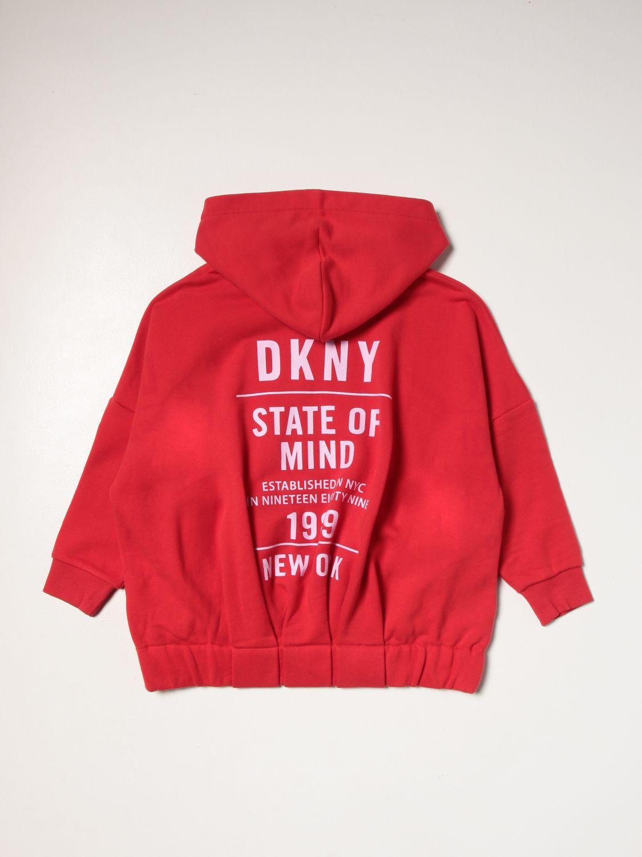 Maglia Dkny: Felpa Dkny con logo rosso 2