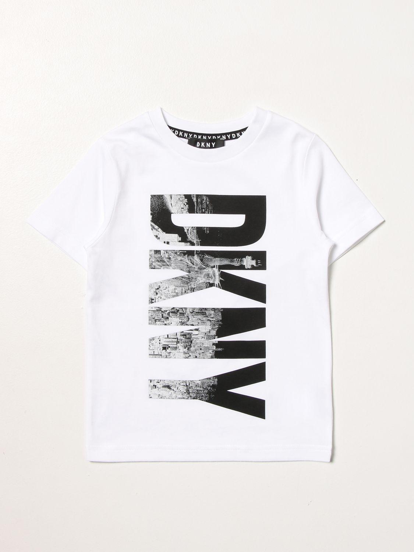 T-shirt Dkny: Dkny T-shirt with big logo white 1