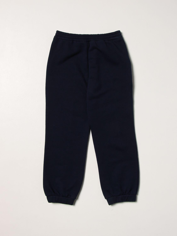 Pantalone Gucci: Pantalone jogging Gucci con logo blue 2