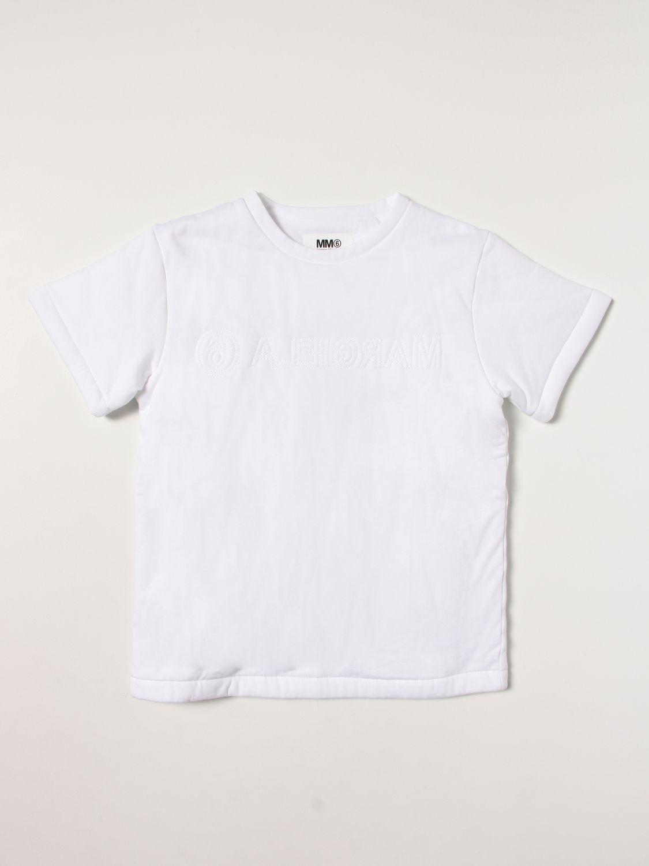T恤 Mm6 Maison Margiela: T恤 儿童 Mm6 Maison Margiela 白色 1