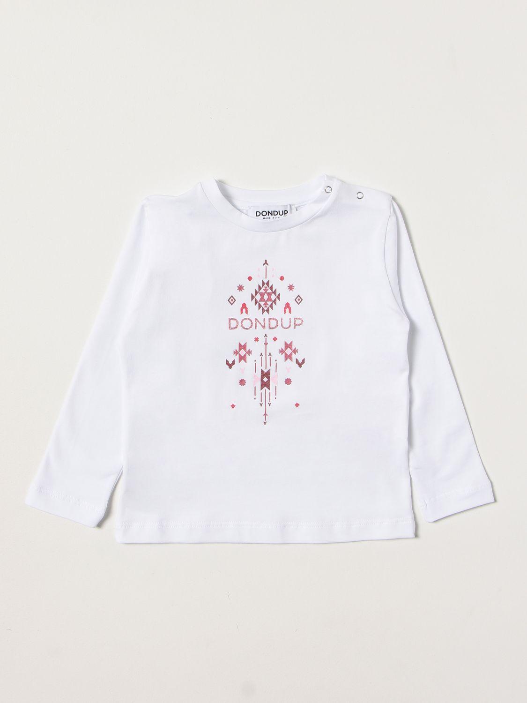 T恤 Dondup: T恤 儿童 Dondup 白色 1