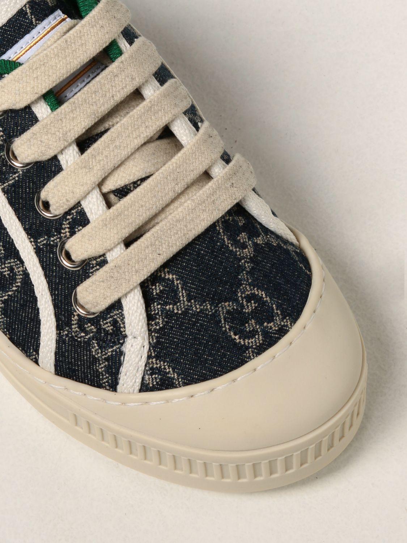 Scarpe Gucci: Sneakers Tennis 1977 Gucci in tela GG Supreme blue 4