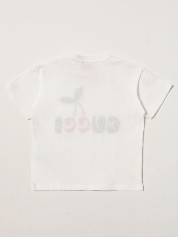 T-shirt Gucci: T-shirt bambino Gucci bianco 2