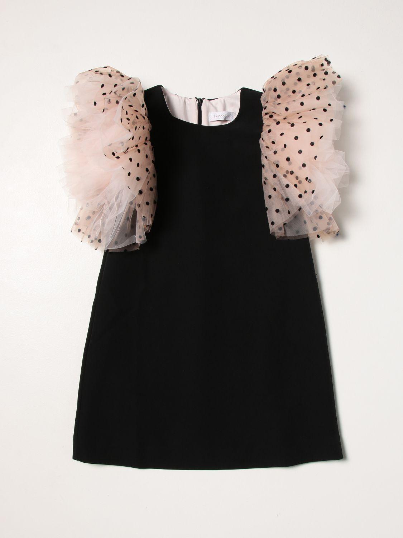 Vestido Monnalisa: Vestido niños Monnalisa rosa 1