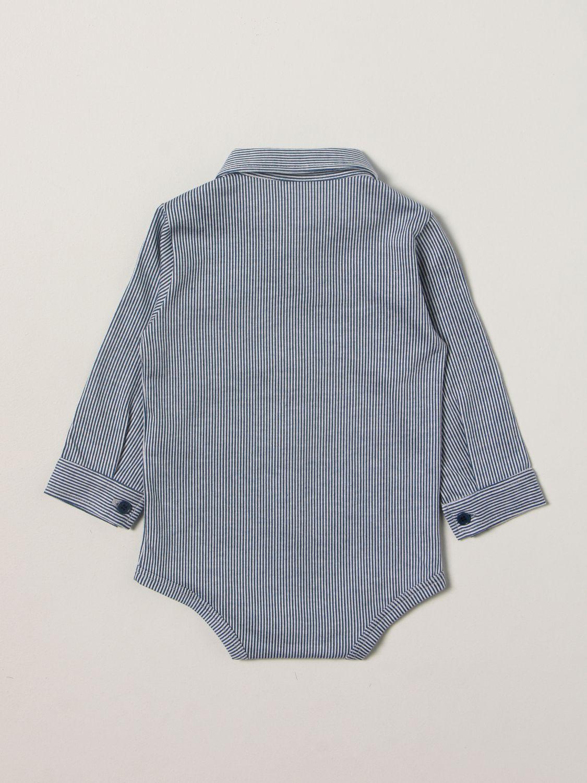 Body Il Gufo: Body bambino Il Gufo blue 2
