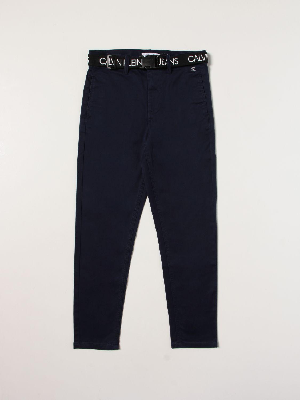 Trousers Calvin Klein: Trousers kids Calvin Klein blue 1