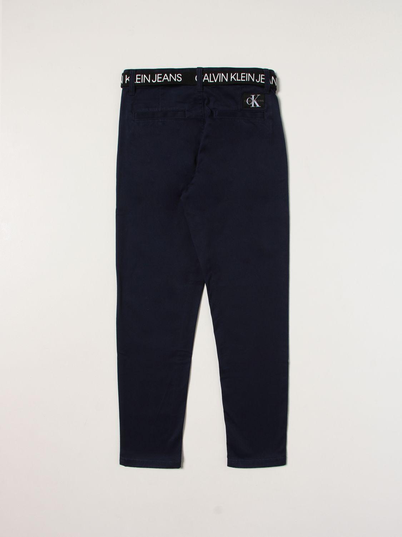 Trousers Calvin Klein: Trousers kids Calvin Klein blue 2