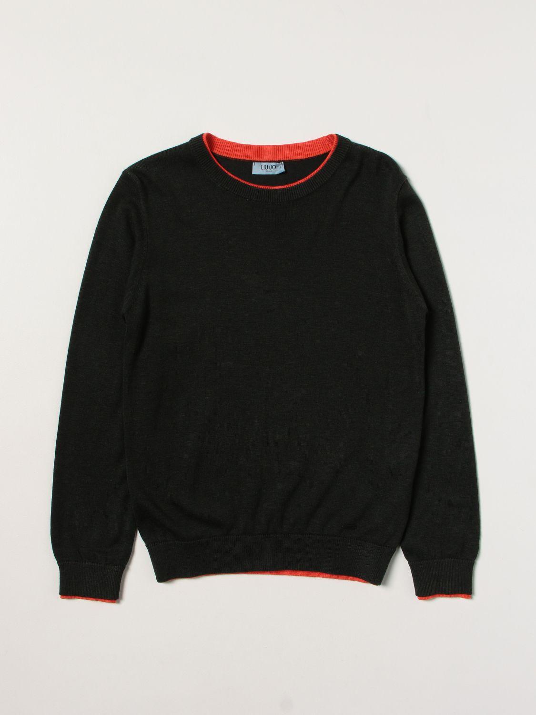 Sweater Liu Jo: Sweater kids Liu Jo green 1