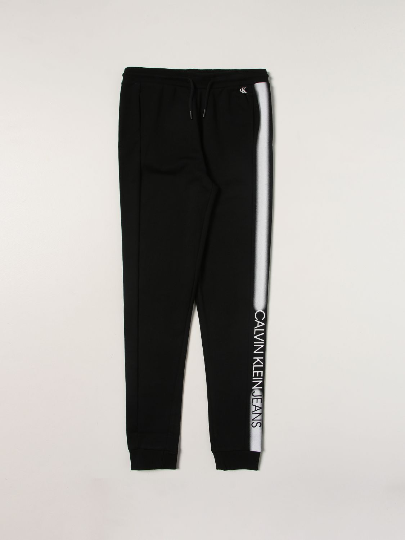 Pantalone Calvin Klein: Pantalone bambino Calvin Klein nero 1 1