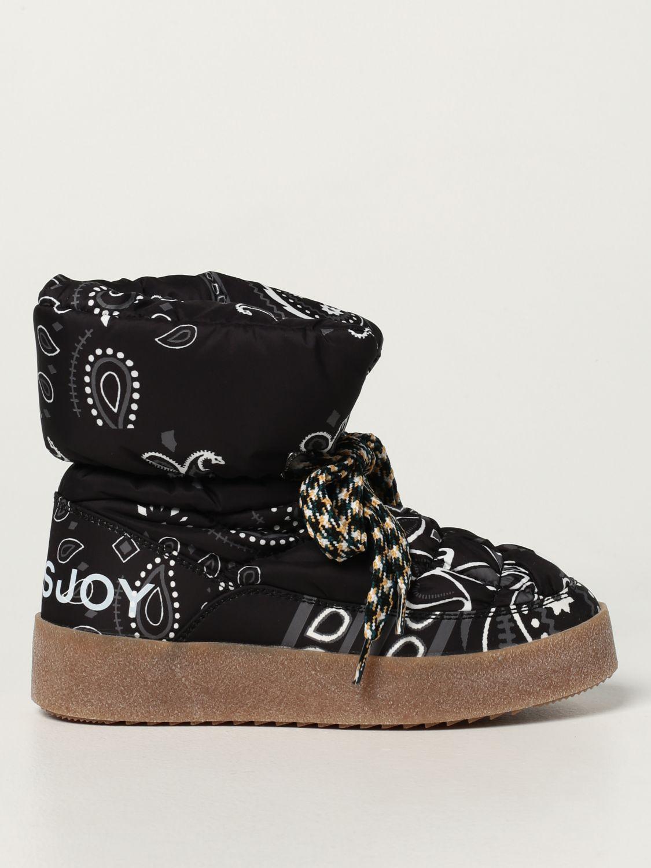 Flat ankle boots Khrisjoy: Boots women Khrisjoy black 1
