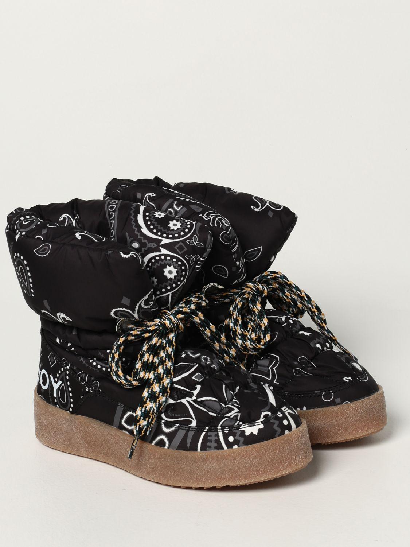 Flat ankle boots Khrisjoy: Boots women Khrisjoy black 2