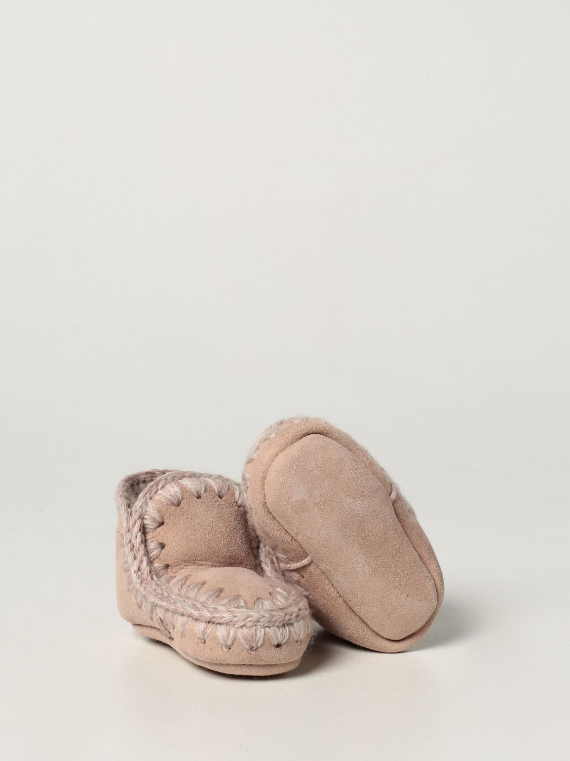 Chaussures Mou: Chaussures enfant Mou beige 2
