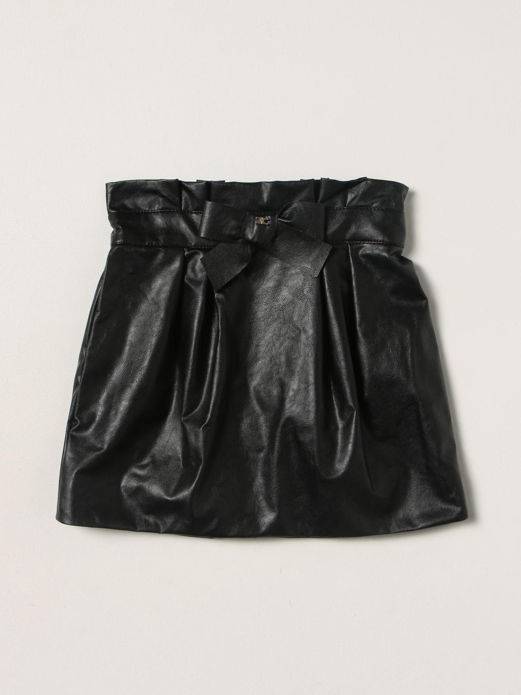 Skirt Elisabetta Franchi: Skirt kids Elisabetta Franchi black 1