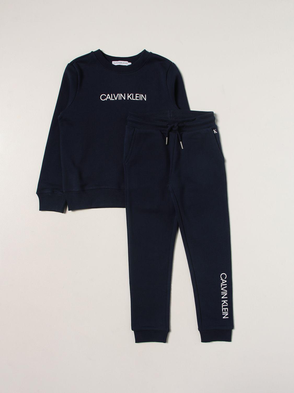 Костюм Calvin Klein: Костюм Детское Calvin Klein синий 1