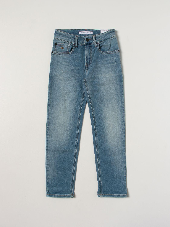Jeans Calvin Klein: Jeans kids Calvin Klein denim 1