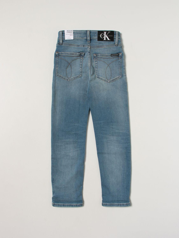 Jeans Calvin Klein: Jeans kids Calvin Klein denim 2