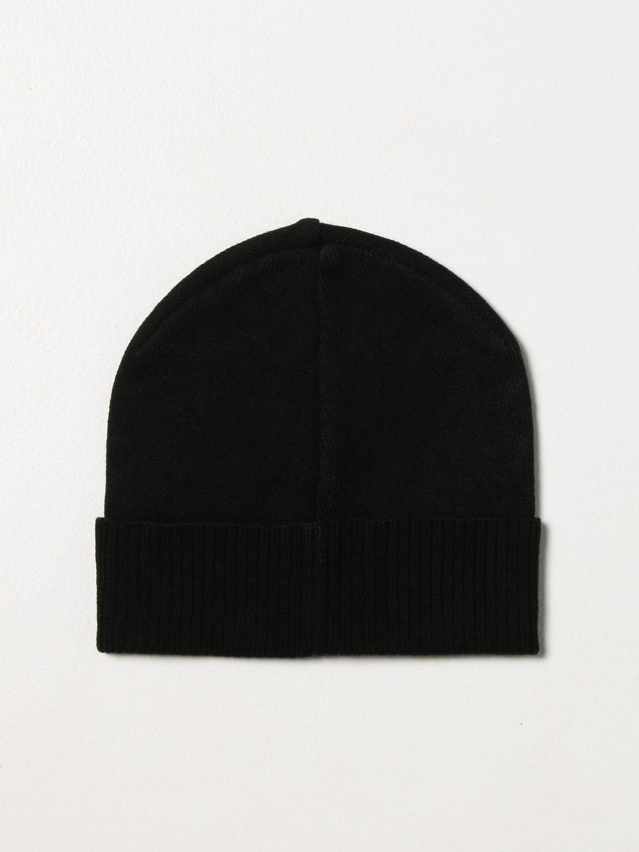 Hat Diesel: Diesel bobble hat with logo black 2