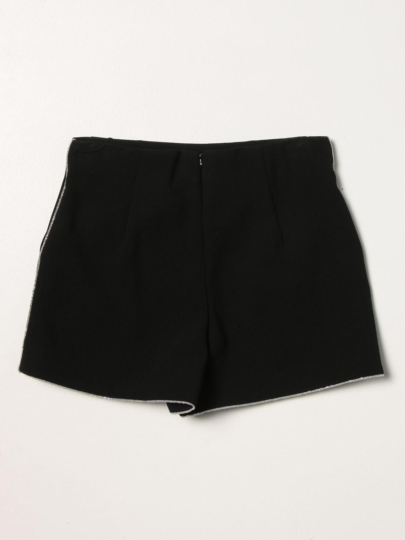 Pantaloncino Elisabetta Franchi: Pantaloncino bambino Elisabetta Franchi nero 2